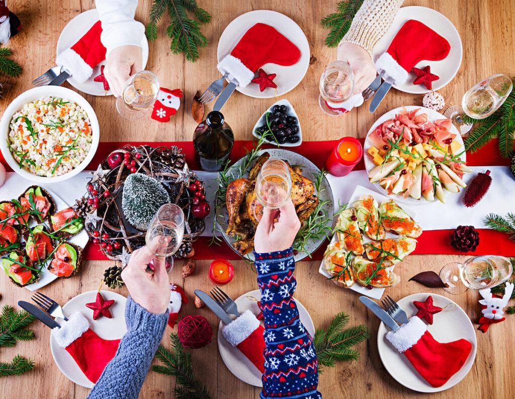 Feste di Natale: cinque cibi che fanno bene alla salute